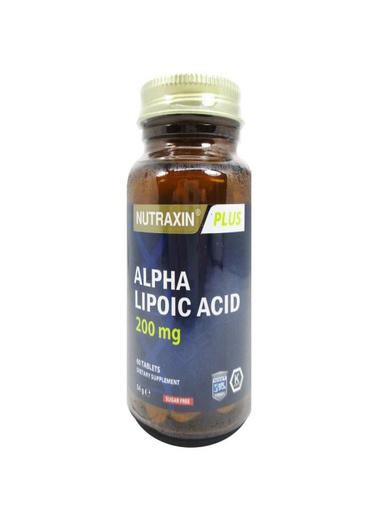 Nutraxin Nutraxin Alpha Lipoic Acid 60 Tablet Renksiz